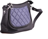 HX London Petunia Medium Sling Bag - Black_Blue