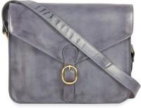 Calligraphy Cross Body Medium Sling Bag - Purple