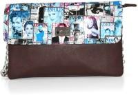 Fab Fashion Women, Girls Casual, Festive, Formal Brown Leatherette Sling Bag