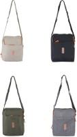 Heels & Handles Women Casual Multicolor Nylon Sling Bag