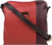 Hidesign Women Red, Purple, Brown Genuine Leather Sling Bag