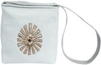 Needlecrest Men, Women Casual Grey Canvas Sling Bag