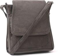 Pochette Women, Girls Casual Grey PU Sling Bag