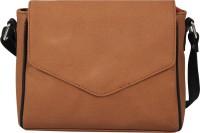 Borsavela Women Tan PU Sling Bag