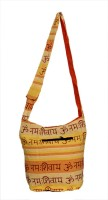 Amazing India Girls Casual Yellow Cotton Sling Bag