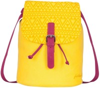 FASTRACK Girls, Women Yellow Canvas Sling Bag