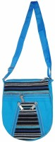 Saffron Craft Men, Women Casual, Formal Blue, Black, White Canvas Sling Bag