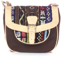 Shaun Design Jacquard Cross Body Medium Sling Bag - SLBDX5HKKEZQYPXW