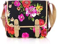 Shaun Design Neon Floral Cross Body Medium Sling Bag - SLBDX5HKGPHXFQX2