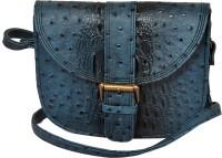 The Runner Girls Casual Blue Leatherette Sling Bag