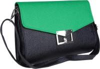 Just Women Envelope Shaped Large Sling Bag - Lime