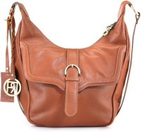 Phive Rivers Women Casual Tan Genuine Leather Sling Bag