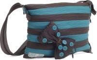 Use Me Mud N Dew Medium Size Sling Bag - Aqua Blue, Brown