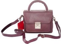 Urban Gypsy Women Evening/Party Purple Genuine Leather Sling Bag
