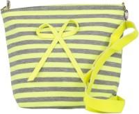 FabSeasons Girls, Women Yellow Cotton Sling Bag