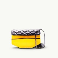 TWACH Frolic Medium Sling Bag - Yellow Black