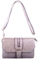 Bag Cottage Industries Women, Girls Tan, Grey Leatherette Sling Bag
