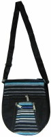 Saffron Craft Men, Women Casual, Formal Black, White, Blue Canvas Sling Bag