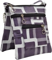 Hawai Pattern Small Sling Bag - Purple-01