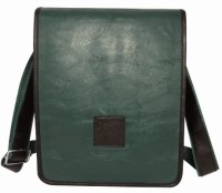 Chimera Leather LMB160261410 Sling Bag - Green, Black