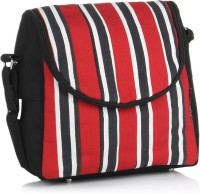 Home Heart Women Casual Red, Black, White Canvas Sling Bag