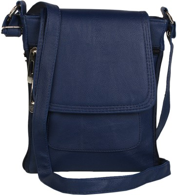 Alessia Women Casual Blue Leatherette Sling Bag for Rs. 449 at ...