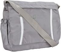 Swiss Design Men Casual Grey Nylon Sling Bag