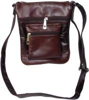 Good Life Stuff Women Formal, Casual Brown Leatherette Sling Bag