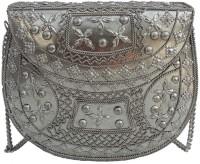 Alar Women Silver Metal Sling Bag - SLBEBZZ3UFKUNU8A
