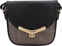 The Peacock Craft Women Grey Jute Sling Bag