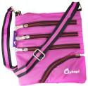 JG Shoppe Floret M3792 Medium Sling Bag - Pink-033