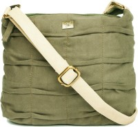Nyk Women Casual, Formal Green PU Sling Bag