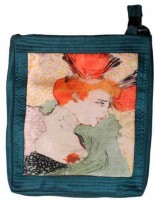 The Museum Outlet Women Orange Canvas Messenger Bag