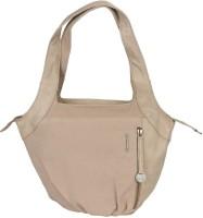 Fastrack Girls Beige Canvas, PU Shoulder Bag