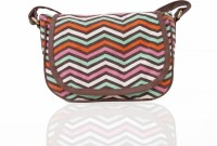 Carry On Bags Girls Multicolor Canvas, PU Sling Bag