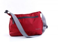 Bendly Smart Foldable Medium Sling Bag - Red-01