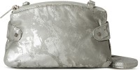Baggit Women Casual Silver Leatherette Sling Bag