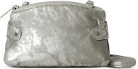 Baggit Women Casual Silver Leatherette Sling Bag