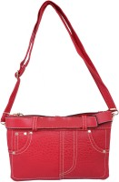 Super Drool Women Red PU Sling Bag