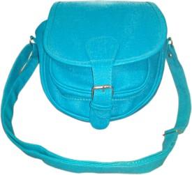 MADASH Girls Green PU Sling Bag