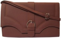 MTE Women Casual Brown PU Sling Bag