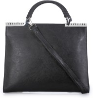 BY Bribe Yourself Women Casual Black PU Shoulder Bag