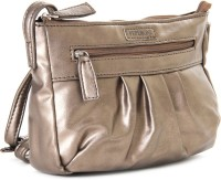 Peperone Women Brown Artificial Leather Sling Bag