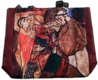 The Museum Outlet Girls Multicolor Canvas Messenger Bag - SLBECQYZGUPBVXWY