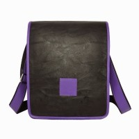 Chimera Leather LMB160451410 Sling Bag - Black, Purple