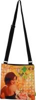 Eco Corner Women Casual Orange Cotton Sling Bag