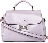 Kiara Women Formal Purple Leatherette Sling Bag
