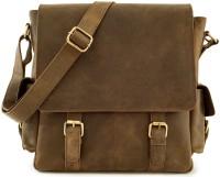 Leaderachi Boys, Girls, Men, Women Casual, Formal, Sports Brown Genuine Leather Sling Bag - SLBE6D2YGZTC2Y3V