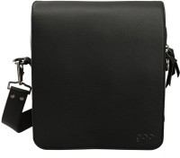 Gqp Accessories Embody Messenger Bag (Vintage Black) Medium Sling Bag - Vintage Black