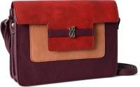 Baggit Women Maroon PU Sling Bag
